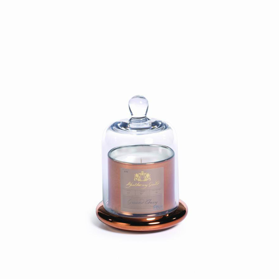 Apothecary Guild Domed Candle - Ground Cherry - CARLYLE AVENUE