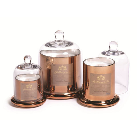 Apothecary Guild Domed Candle - Ground Cherry