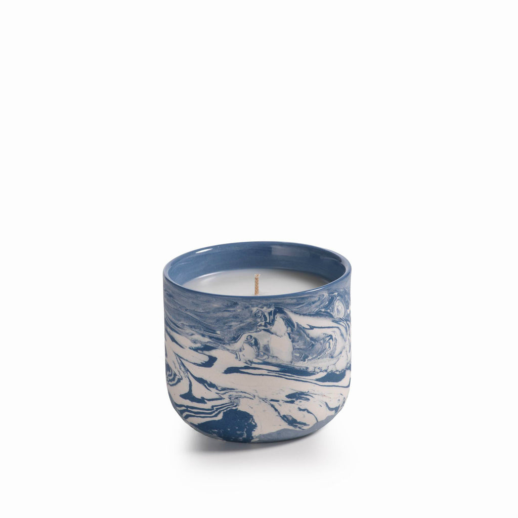 Apothecary Guild Marbleized Candle Jar - CARLYLE AVENUE