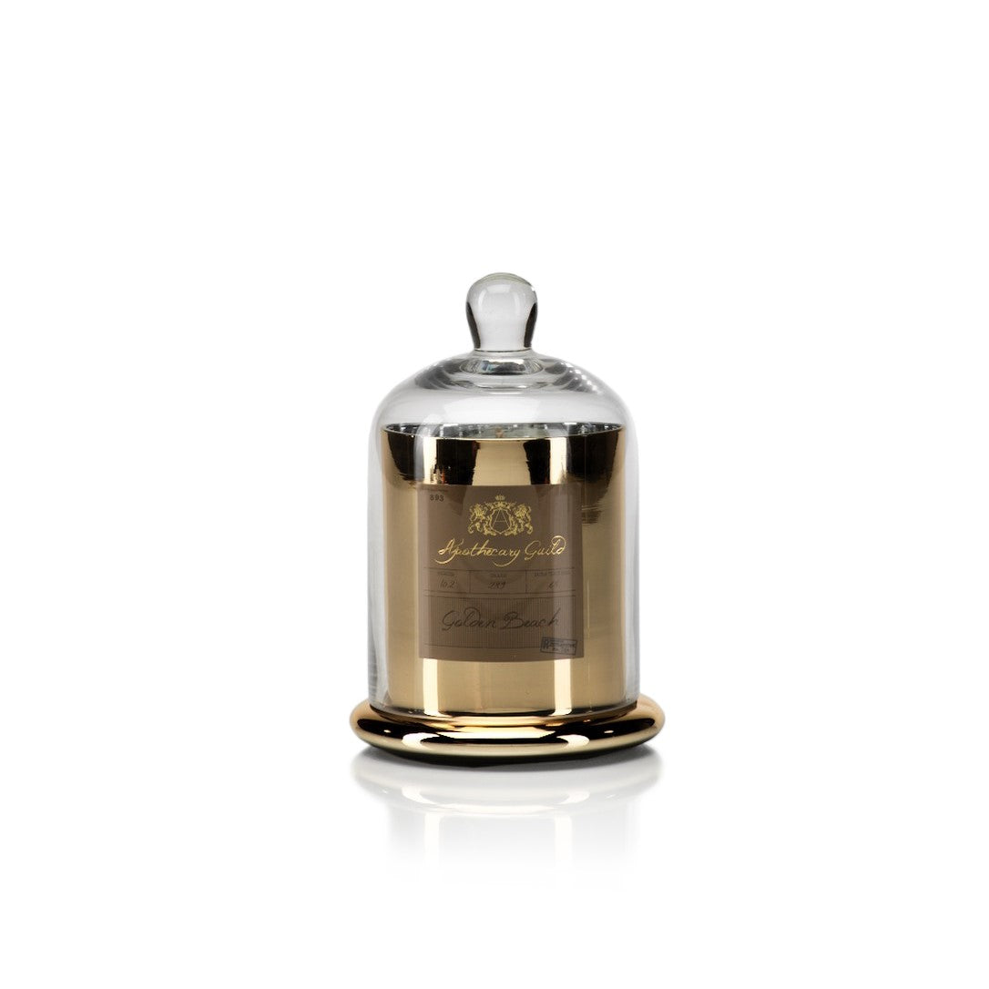 Apothecary Guild Domed Candle - Golden Beach - CARLYLE AVENUE