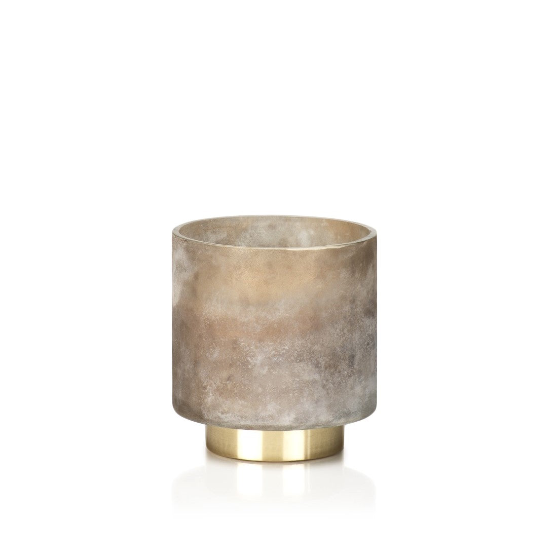 Cortina Scented Candle Jars and Hurricane - Taupe - CARLYLE AVENUE