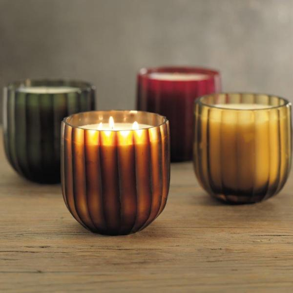 Suede Scented Candle Jars