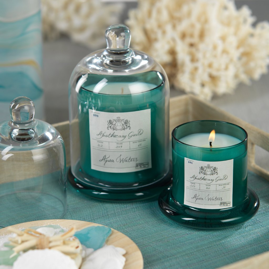 Apothecary Guild Domed Candle - Aqua Waters