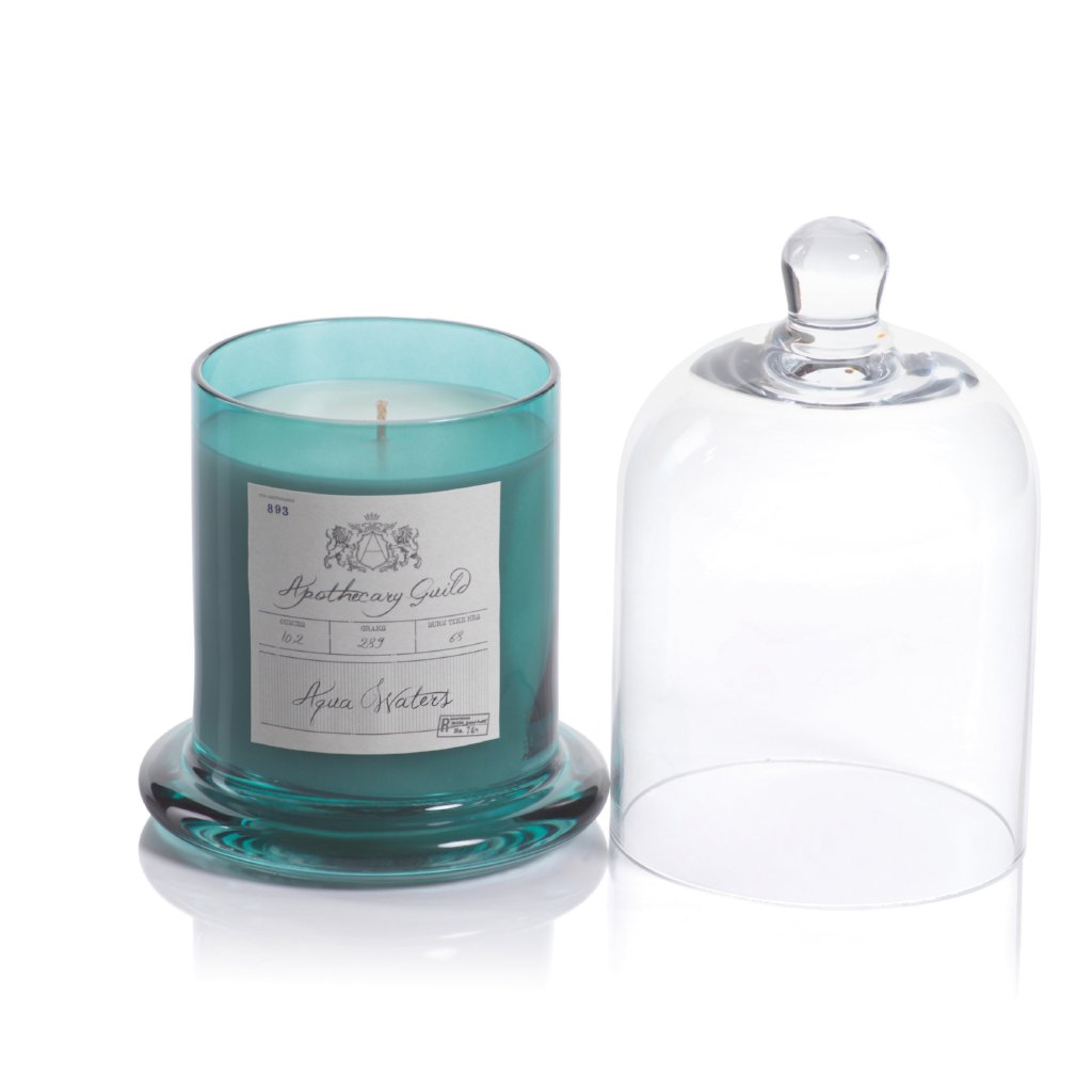 Apothecary Guild Domed Candle - Aqua Waters - CARLYLE AVENUE