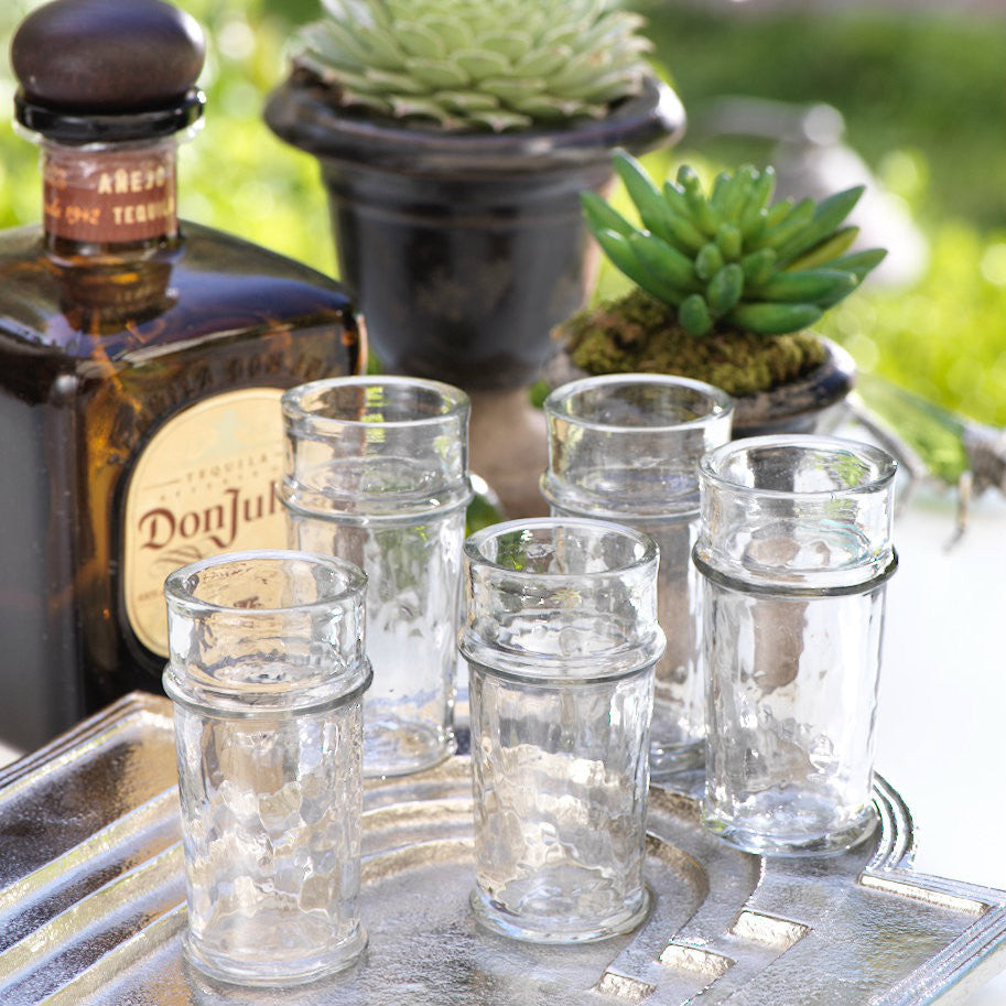 Fiesta Shot Glasses - Set of 6 - CARLYLE AVENUE