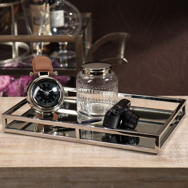Rectangular Mirrored Tray -  - CARLYLE AVENUE - 2