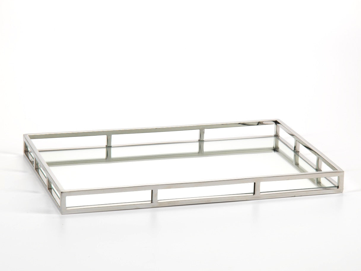 Rectangular Mirrored Tray -  - CARLYLE AVENUE - 5