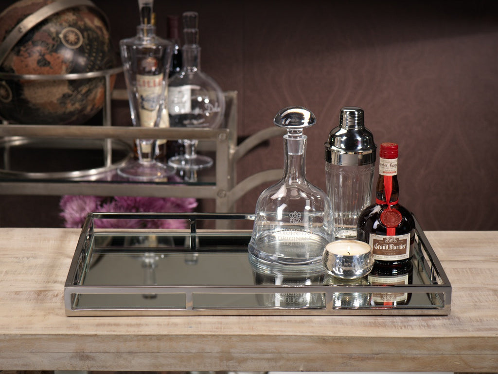 Rectangular Mirrored Tray - Small - CARLYLE AVENUE - 3