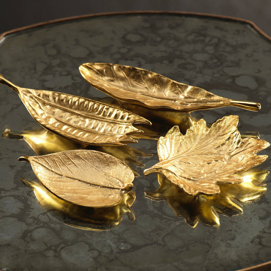 Leaf Dishes - Set of Two - Mulberry Leaf - CARLYLE AVENUE - 1