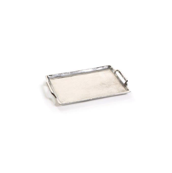 Rectangular Aluminum Tray with Handles - Small - CARLYLE AVENUE - 2