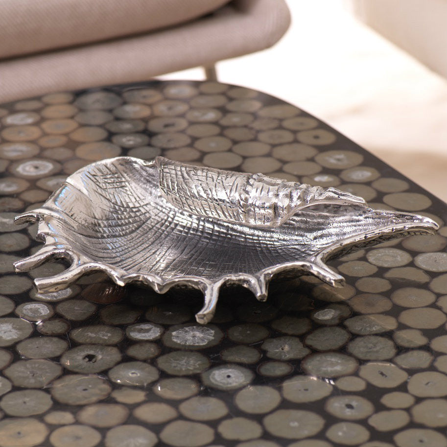 Spider Shell Decorative Tray - Default Title - CARLYLE AVENUE - 2