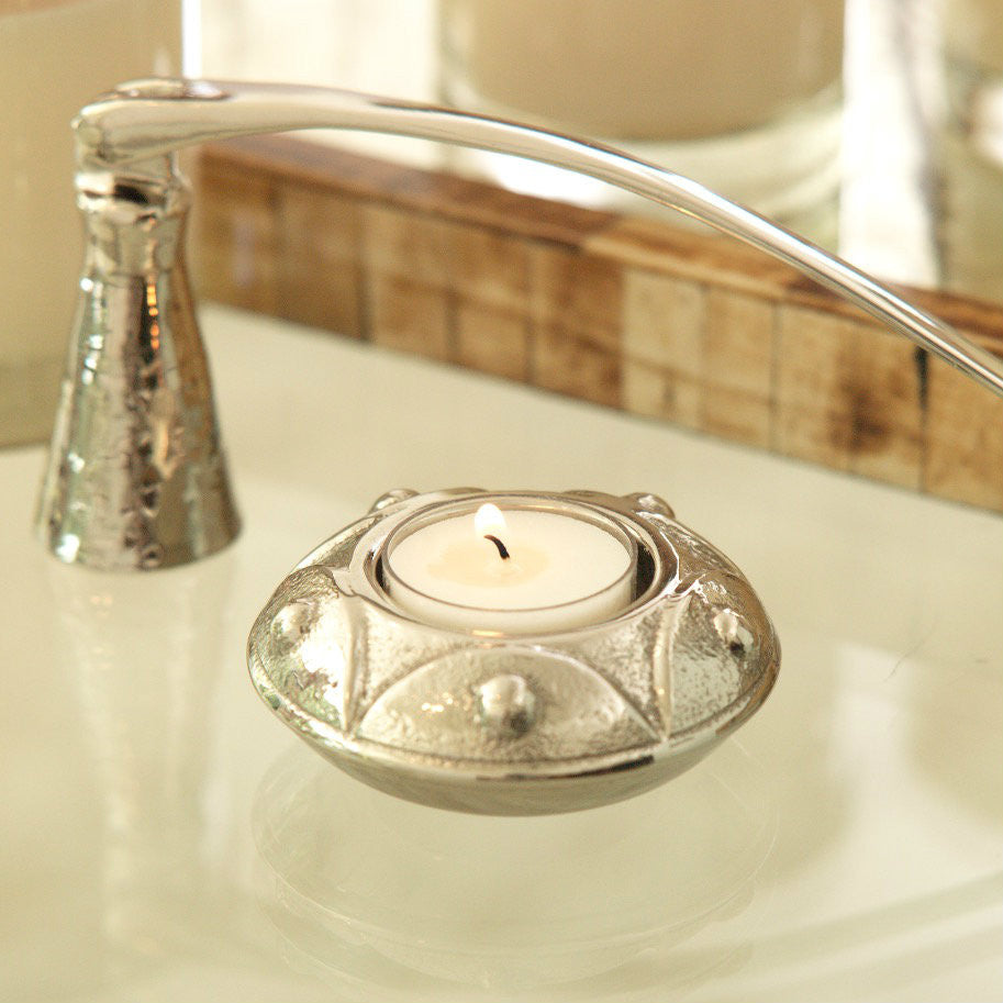 Embossed Tealight Holder - Set of 4 -  - CARLYLE AVENUE - 2