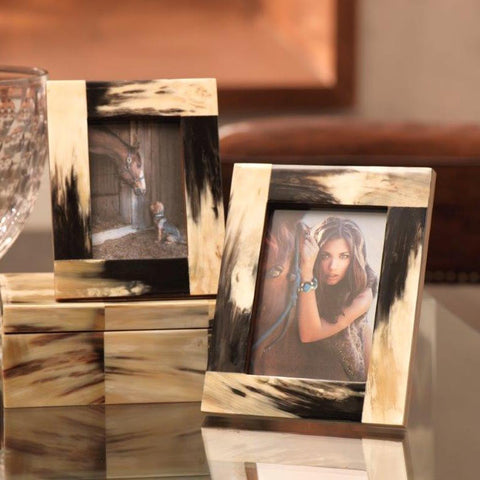 Granular Horn Photo Frame