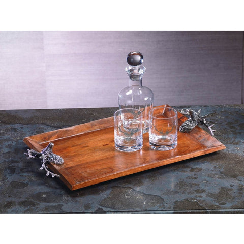 Bolton Stag Head Rectangular Tray