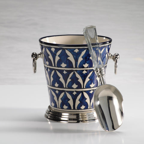 Mazagan Hand Painted Ice Bucket