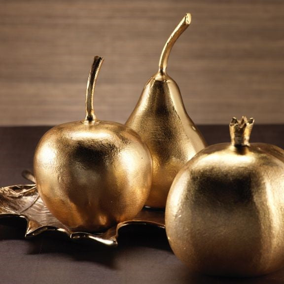 Golden Decorative Fruit - CARLYLE AVENUE