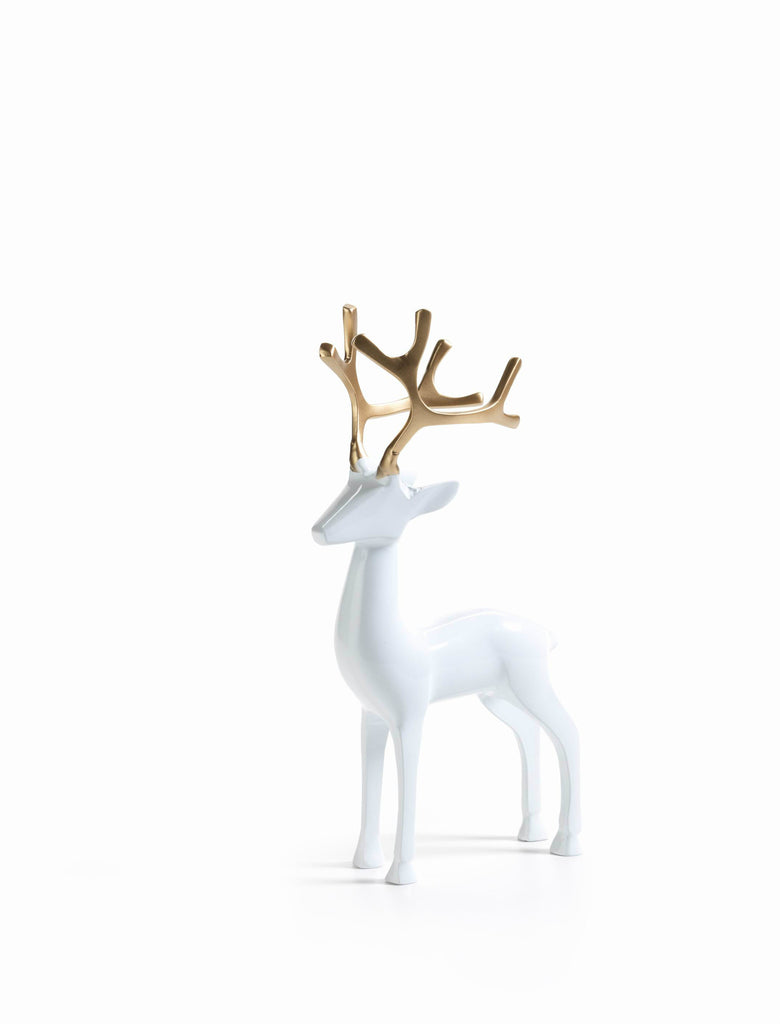 Reindeer with Golden Antlers Looking Ahead - Small - CARLYLE AVENUE - 2