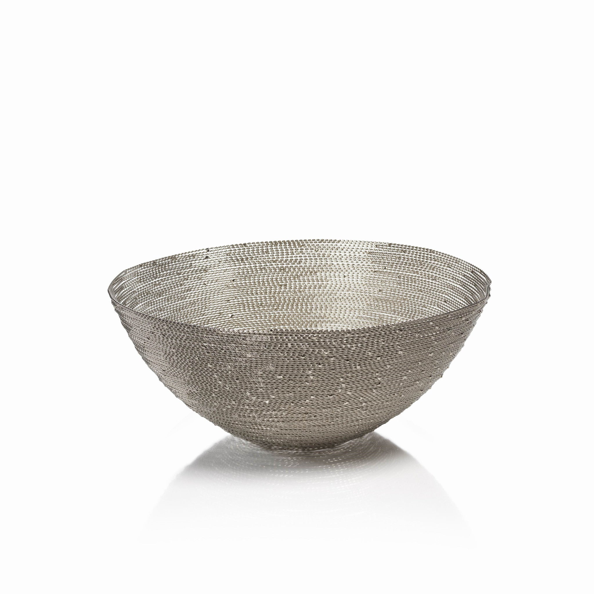 Zulu Woven Wire Basket - Round / Small - CARLYLE AVENUE - 2