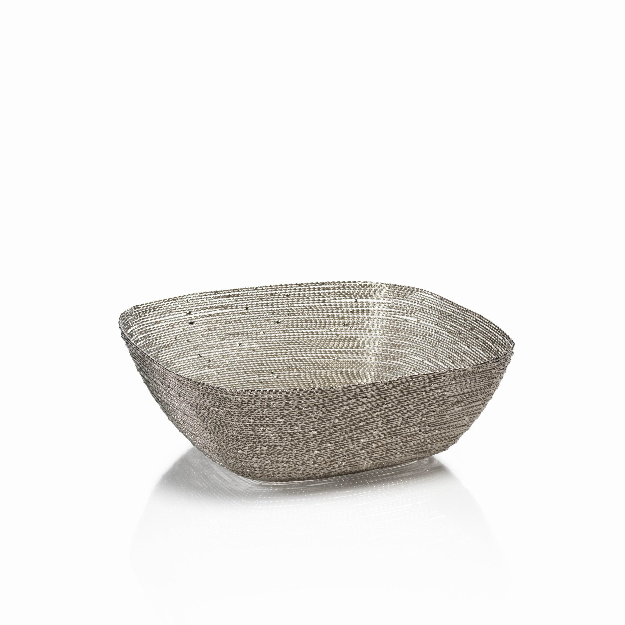 Zulu Woven Wire Basket - Square / Large - CARLYLE AVENUE - 5