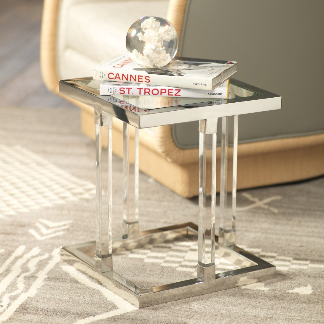 Amalfi Side Table - CARLYLE AVENUE