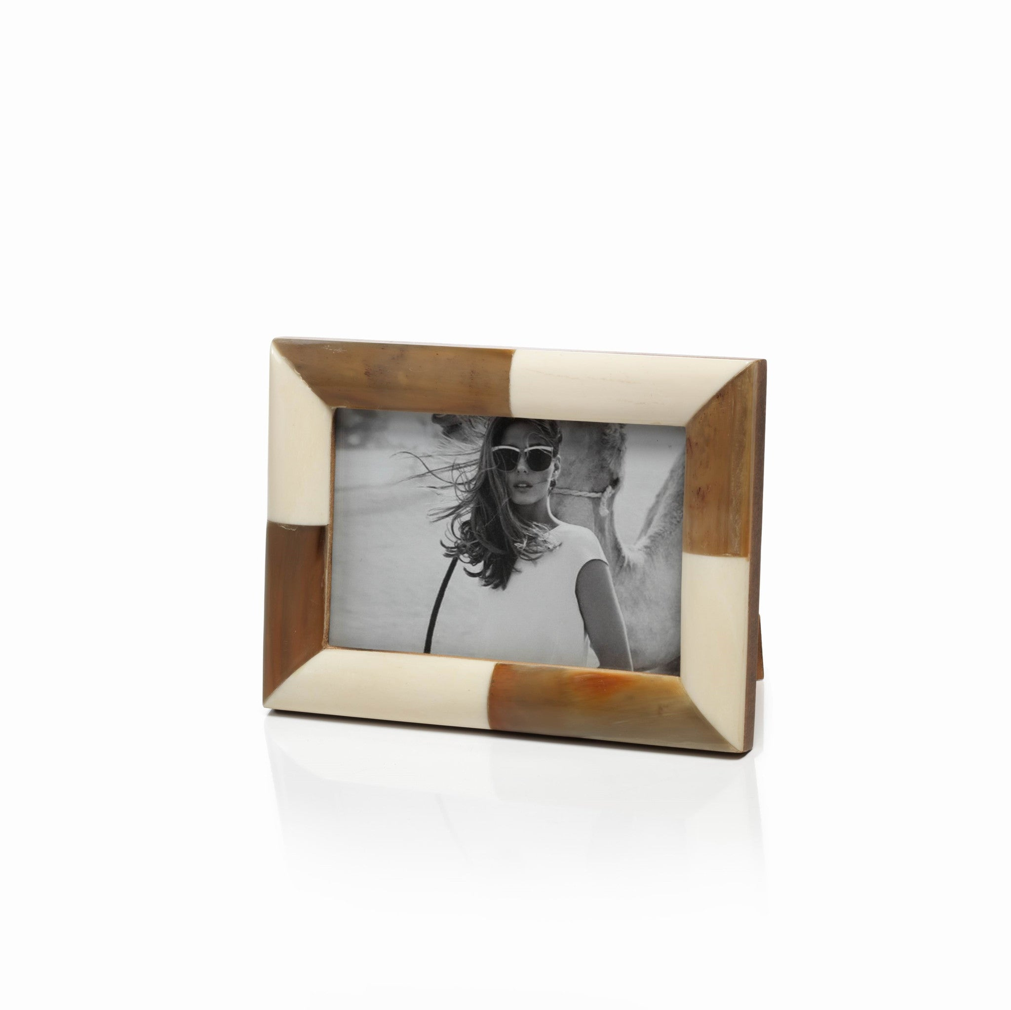Cape Royal White Bone & Horn Photo Frame - CARLYLE AVENUE