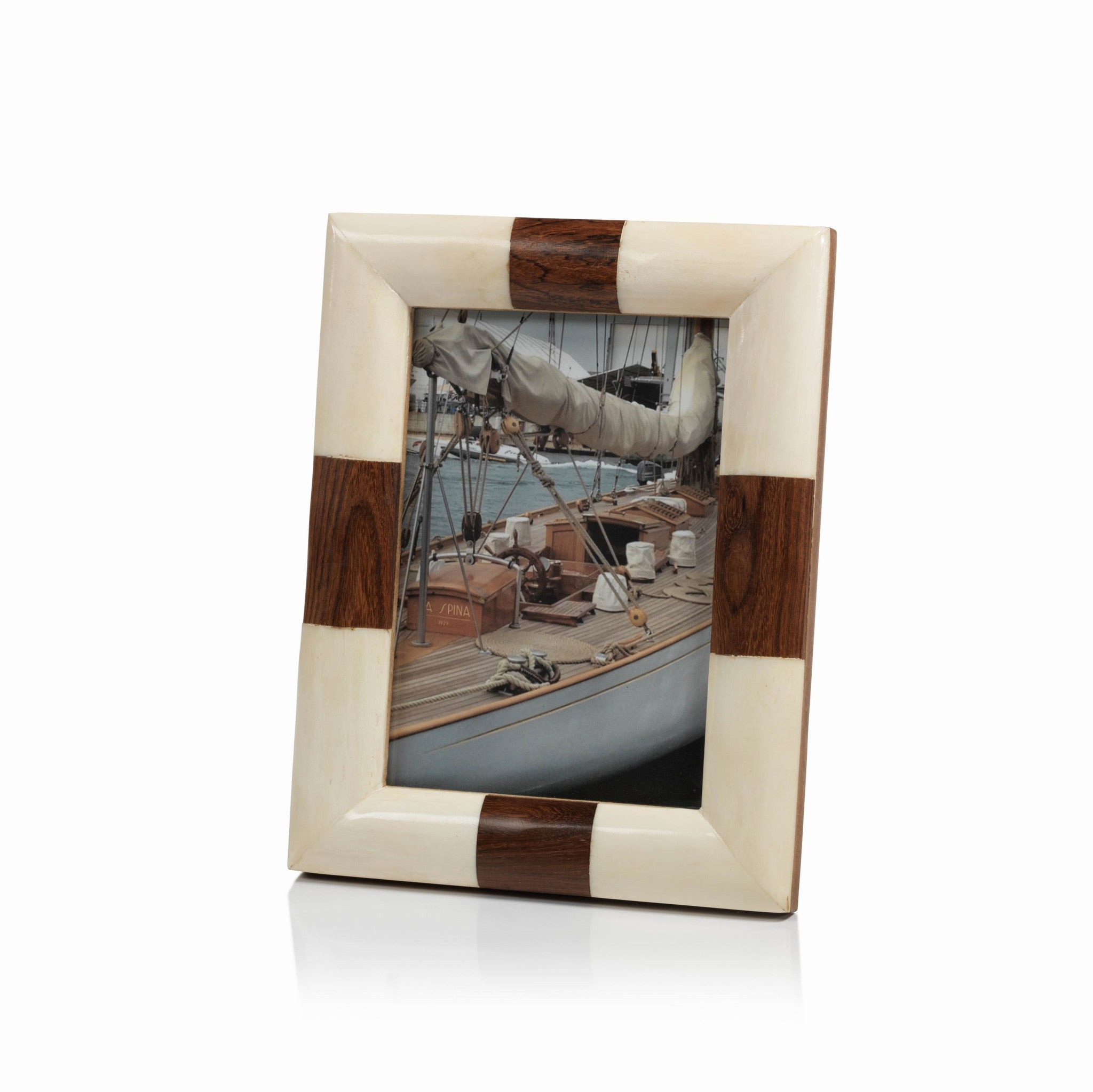 Kenya White Bone Photo Frame - CARLYLE AVENUE