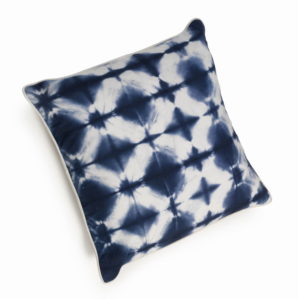 Indigo Dyed Throw Pillows