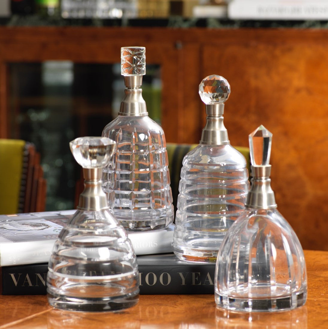 Porto Hand Cut Glass Decanter