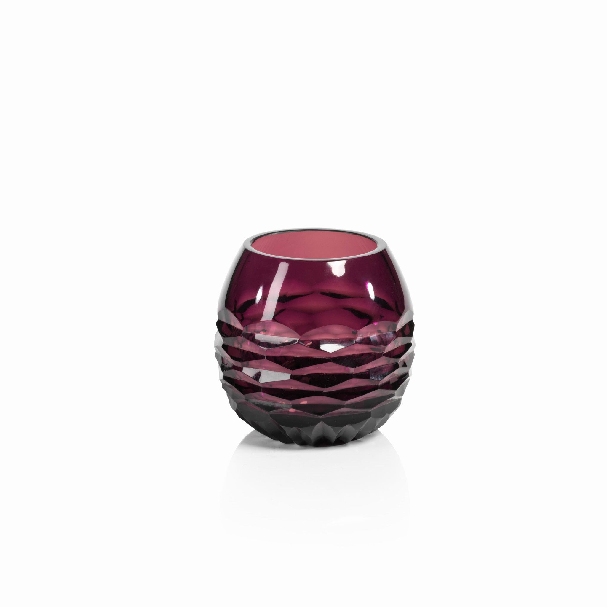 Taza Cut Glass Vase / Tealight Holder - CARLYLE AVENUE