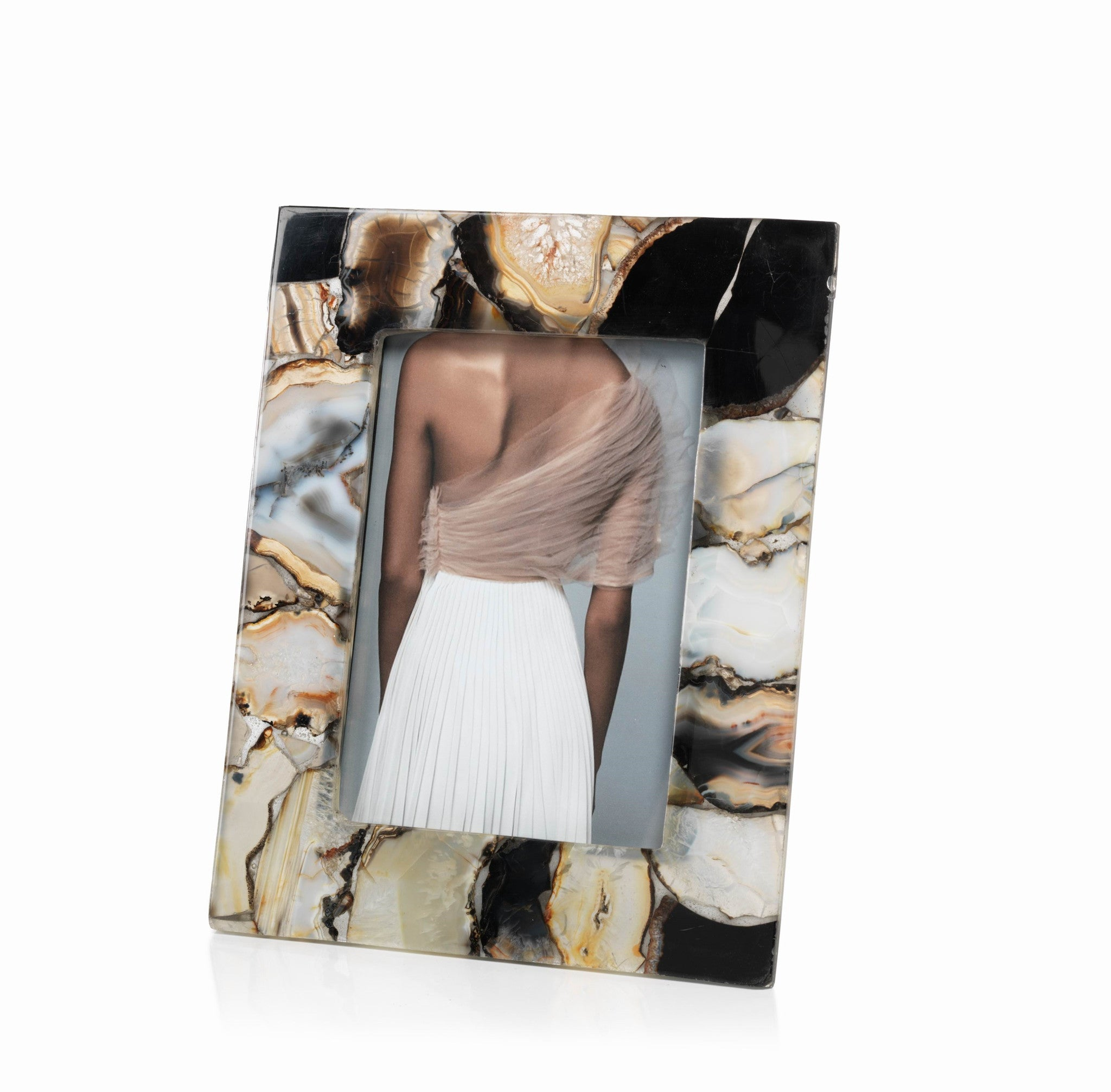Bahia Agate Photo Frame - CARLYLE AVENUE