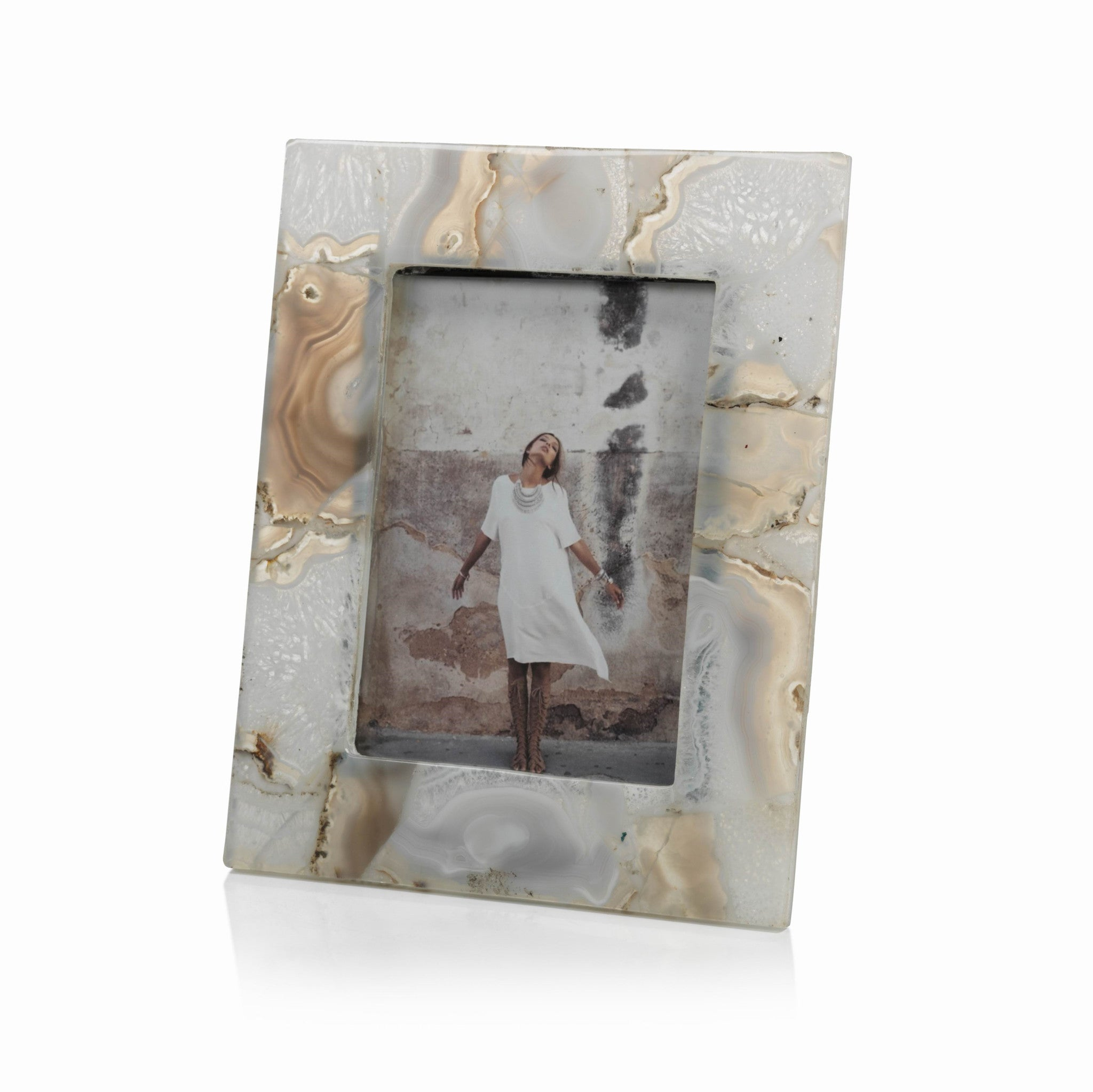 Preto Agate Photo Frame - CARLYLE AVENUE