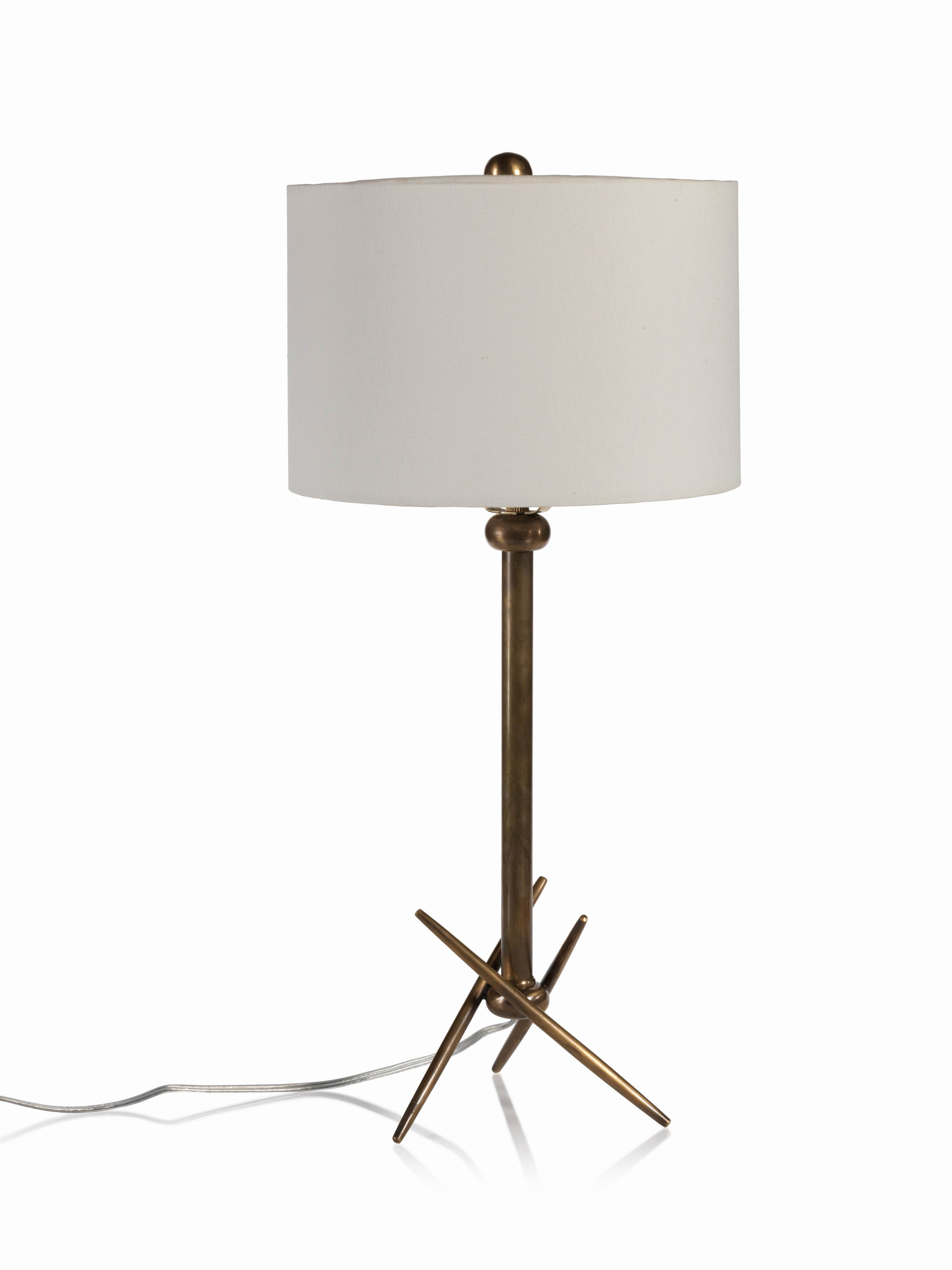 Palma Brass Table Lamp