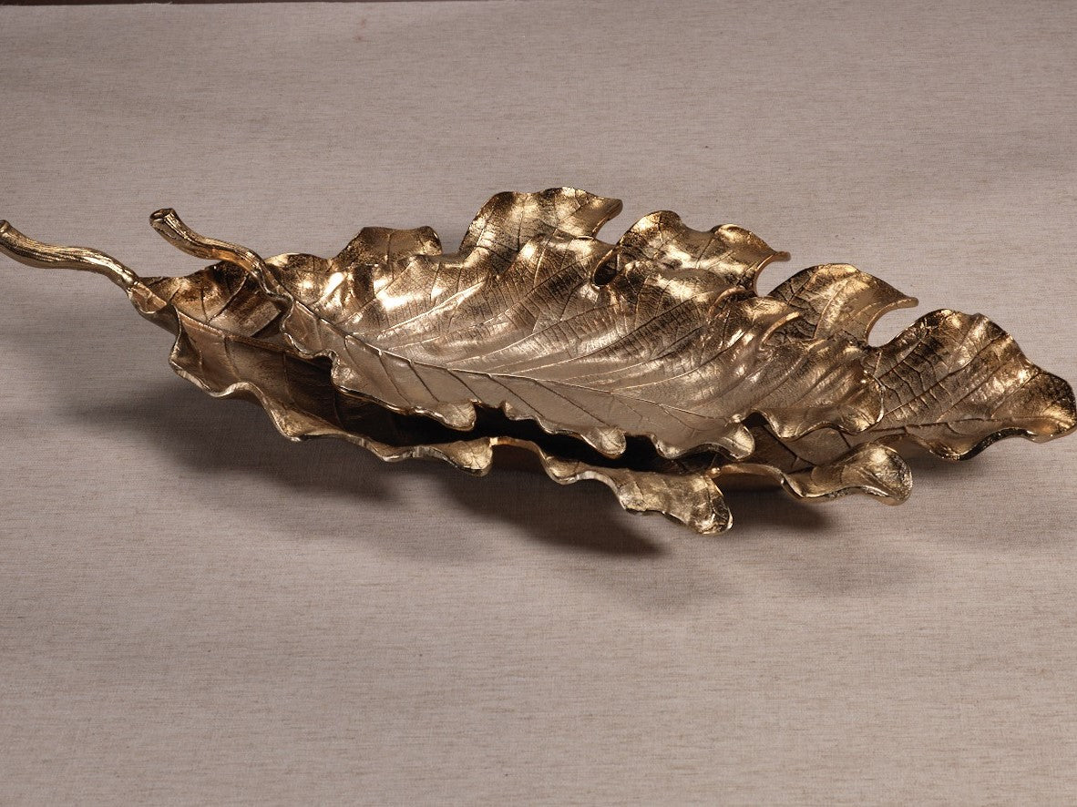Golden Leaf Bowl - CARLYLE AVENUE