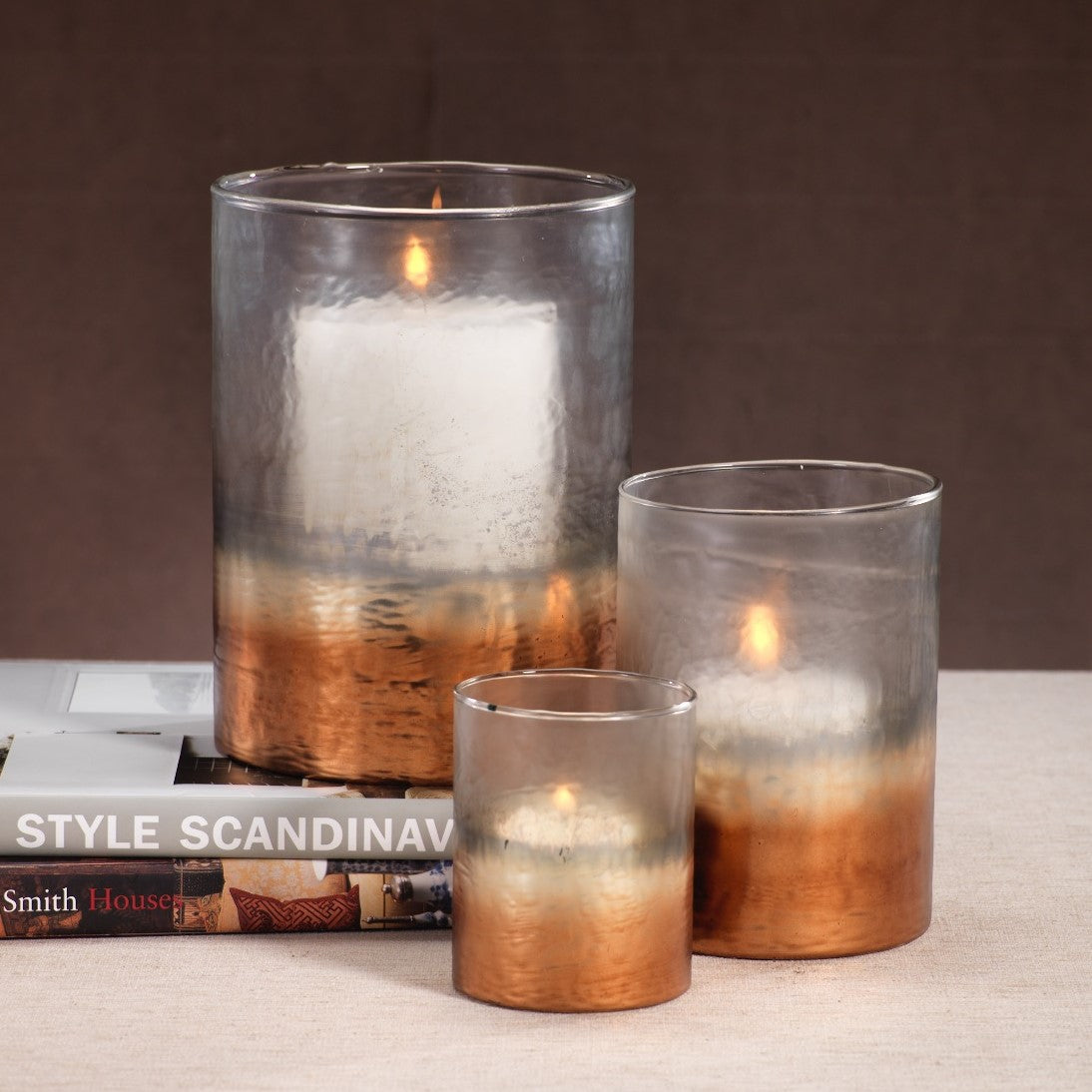 Fire & Ice Candle Hurricane - CARLYLE AVENUE
