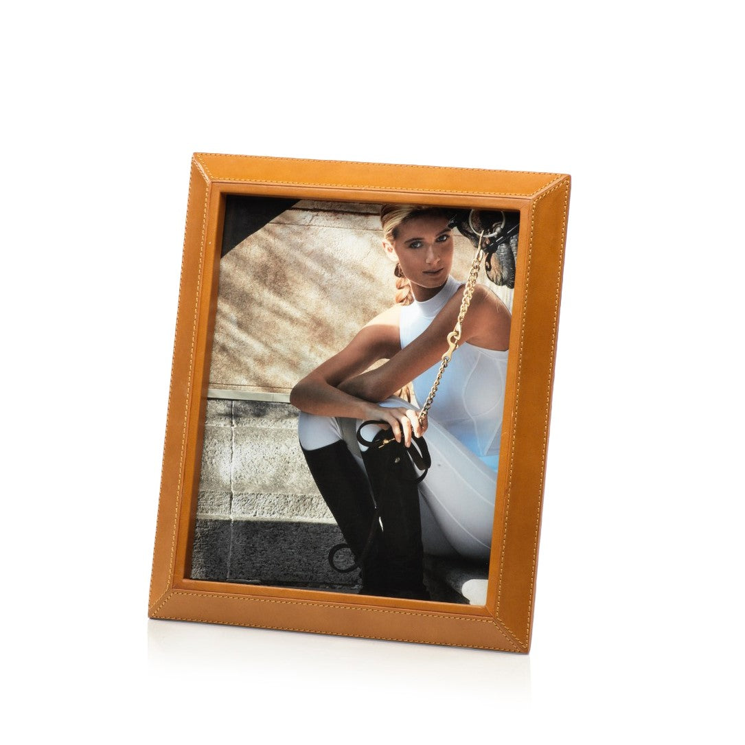 Leather Picture Frame - Tan