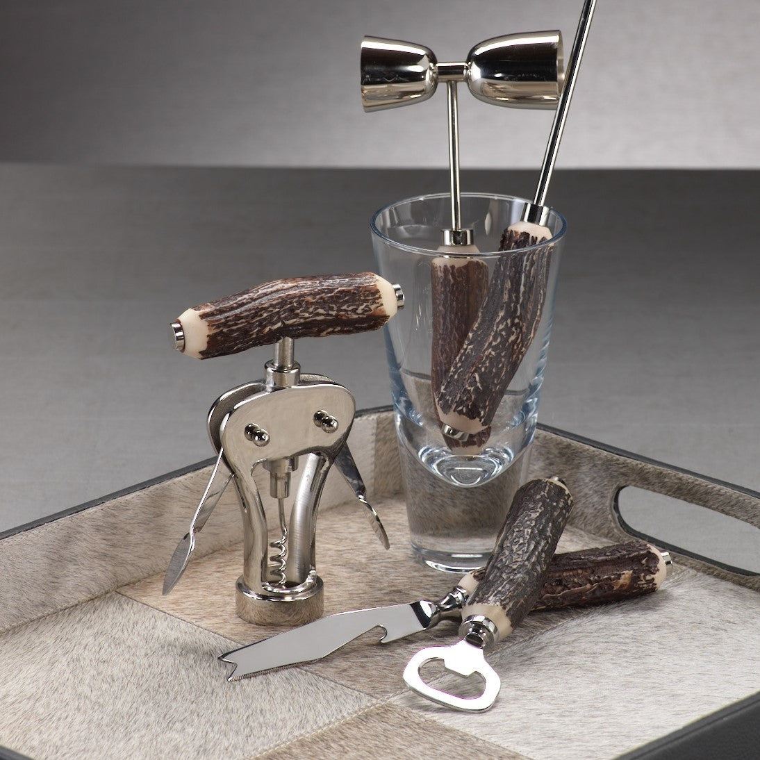 Teton Antler Design Barware Tools