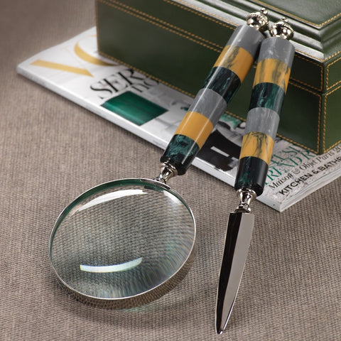 Magnifying Glass & Letter Opener