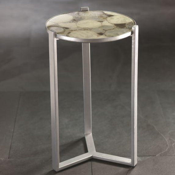 Nova Cocktail Table w/ Agate Top