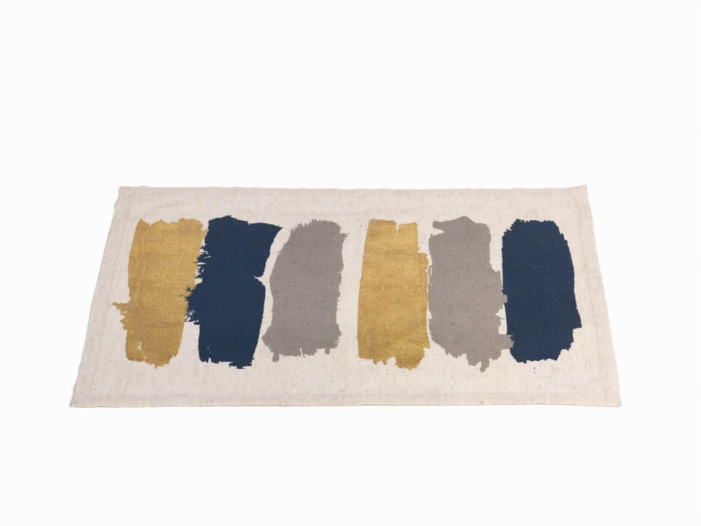 Capucci Cotton Linen Placemat and Table Runner - CARLYLE AVENUE