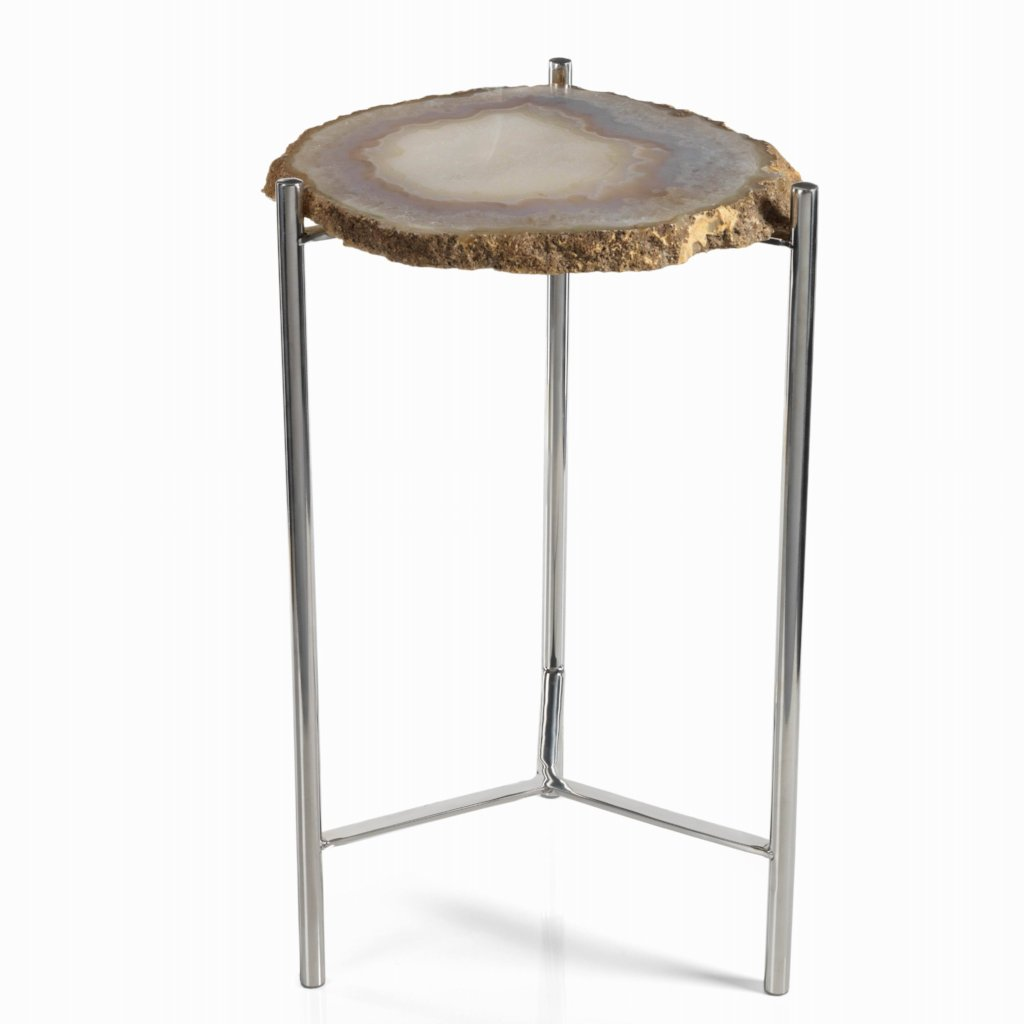 Savona Agate Accent Table