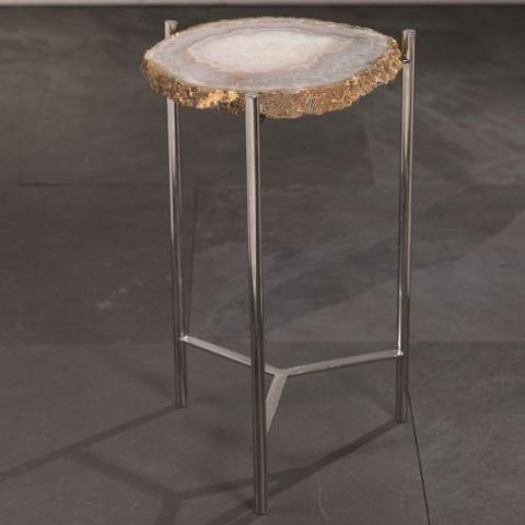 Savona Agate Accent Table - CARLYLE AVENUE