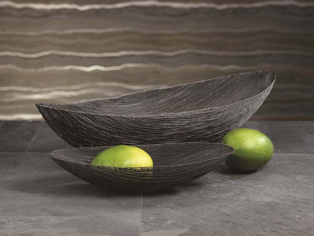 Twisted Wire Oval Bowls