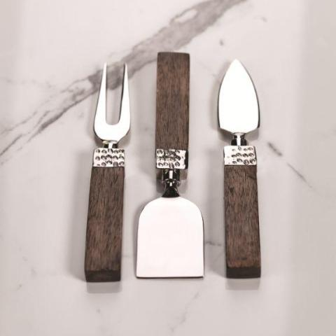Mango Wood Cheese Tool Set