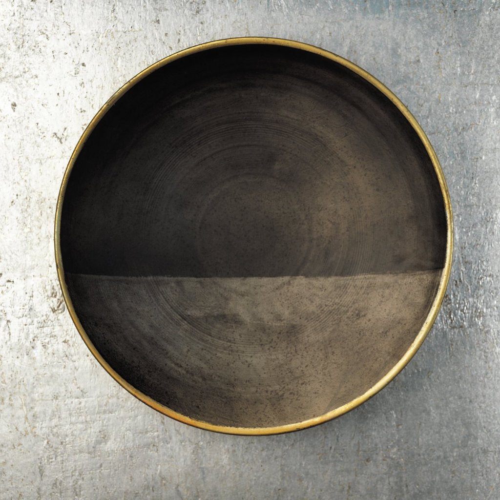 Emilie Iron Bowl and Wall Décor - Black Onyx - CARLYLE AVENUE