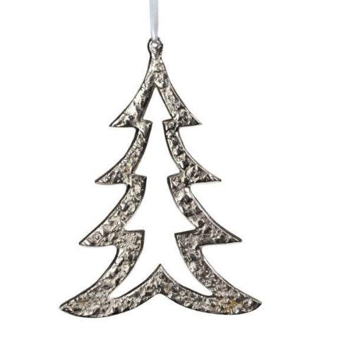 Raw Aluminum Ornament - Nickel