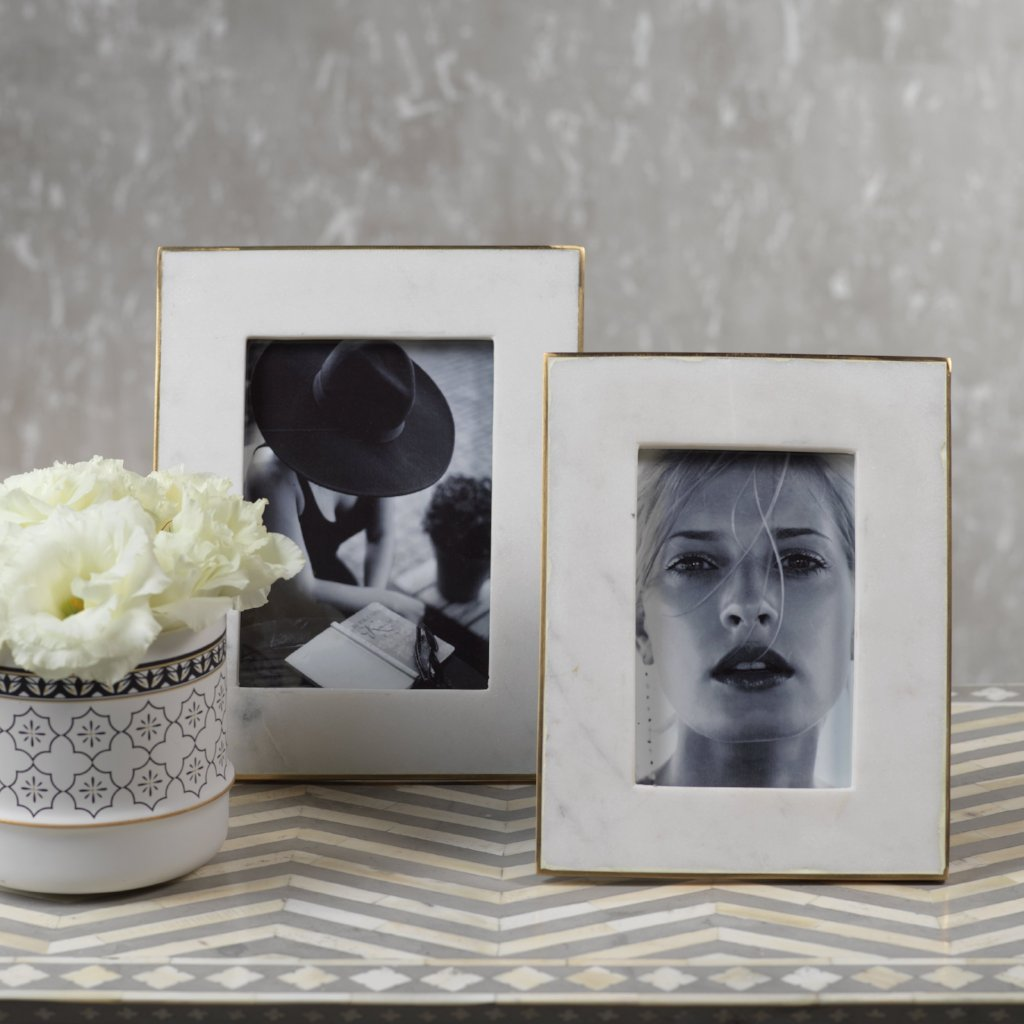 Marmo Marble Photo Frame - CARLYLE AVENUE