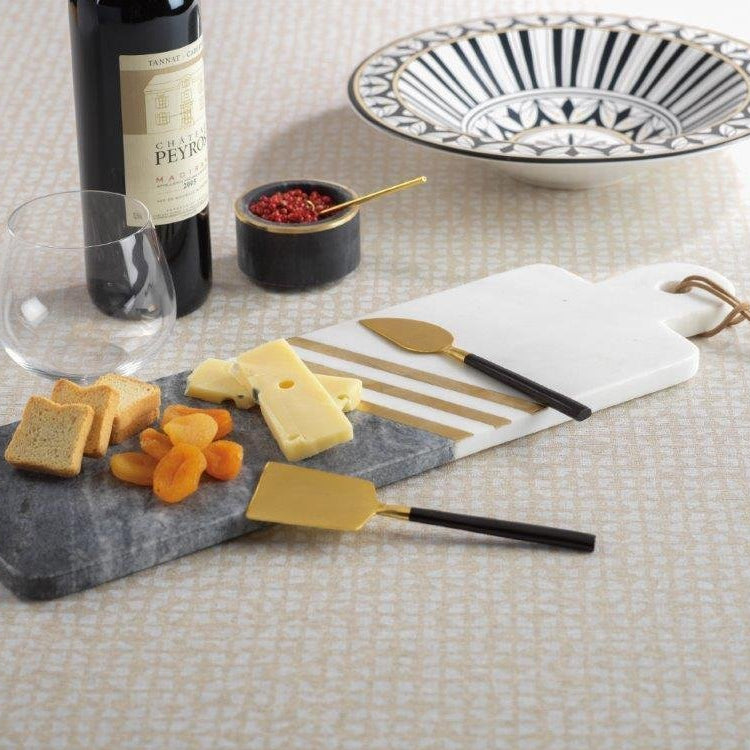 Makrana Two-Tone Marble Cheese Tray - CARLYLE AVENUE
