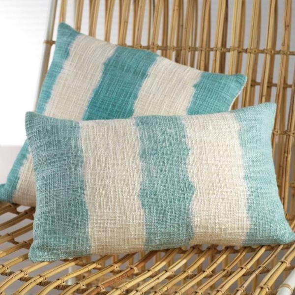 Paros Tie Dye Throw Pillow - Blue