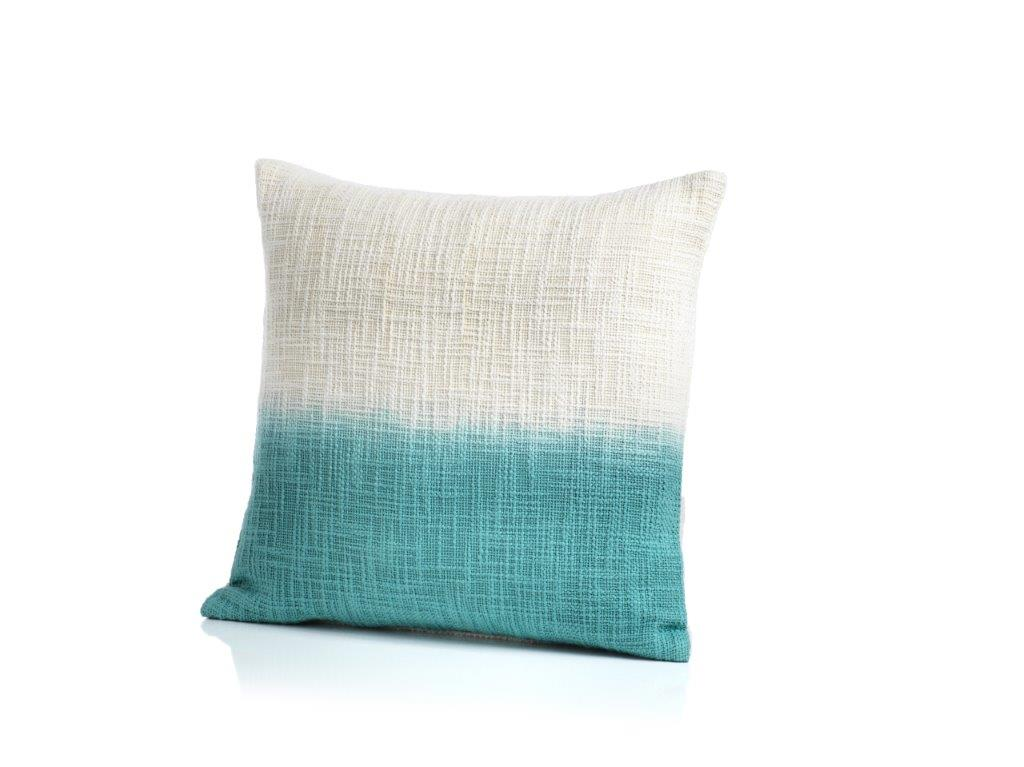 Paros Tie Dye Throw Pillow - Blue - CARLYLE AVENUE