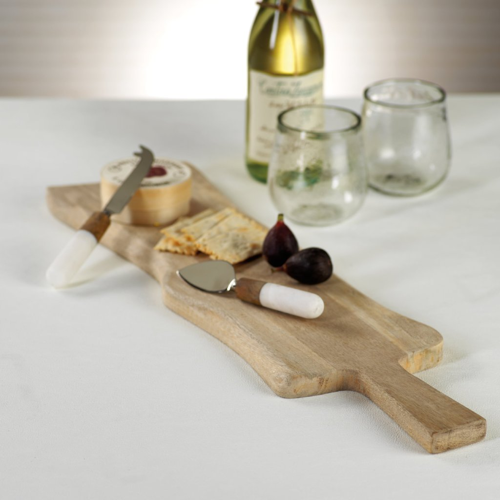 Avra Mango Wood Cheese & Charcuterie Board - CARLYLE AVENUE